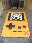Game Boy Color Quilt Orange