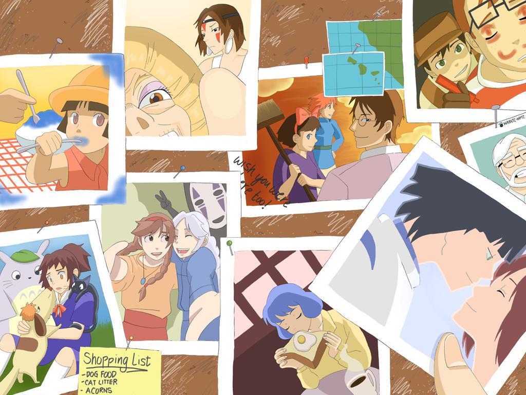 Ghibli Snapshots by hayate-hime