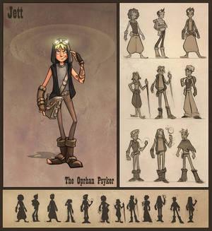 Jett, The Oprhan Psyker