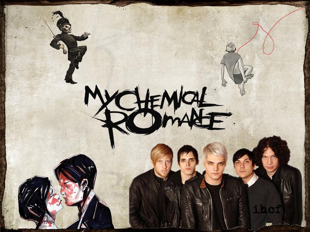 My Chemical Romance Wallpaper by ihatecrazyfrog