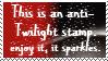 Anti Twilight stamp by piratekit