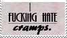 hate cramps stamp by piratekit