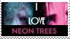 Neon Trees stamp by piratekit
