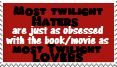 Most Twilight lovers haters by piratekit