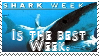 Shark week stamp by piratekit