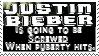 Justin Bieber stamp by piratekit