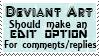 DA edit option stamp by piratekit
