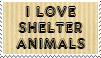 Love Shelter animals by piratekit