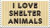 Love Shelter animals by piratekit
