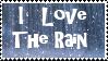 Rain stamp by piratekit