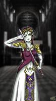 Ganon's Puppet Zelda by katzenleiche