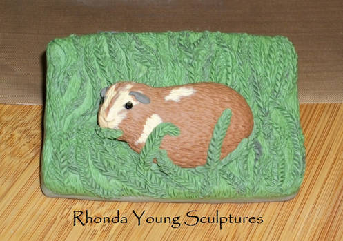 Guinea Pig - Clay ACEO