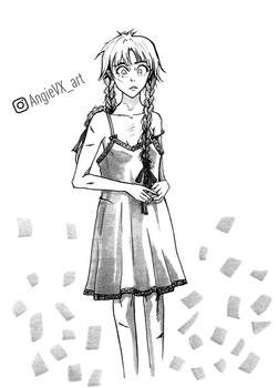 Vio from Chapter 1 of Thief's Notes Book