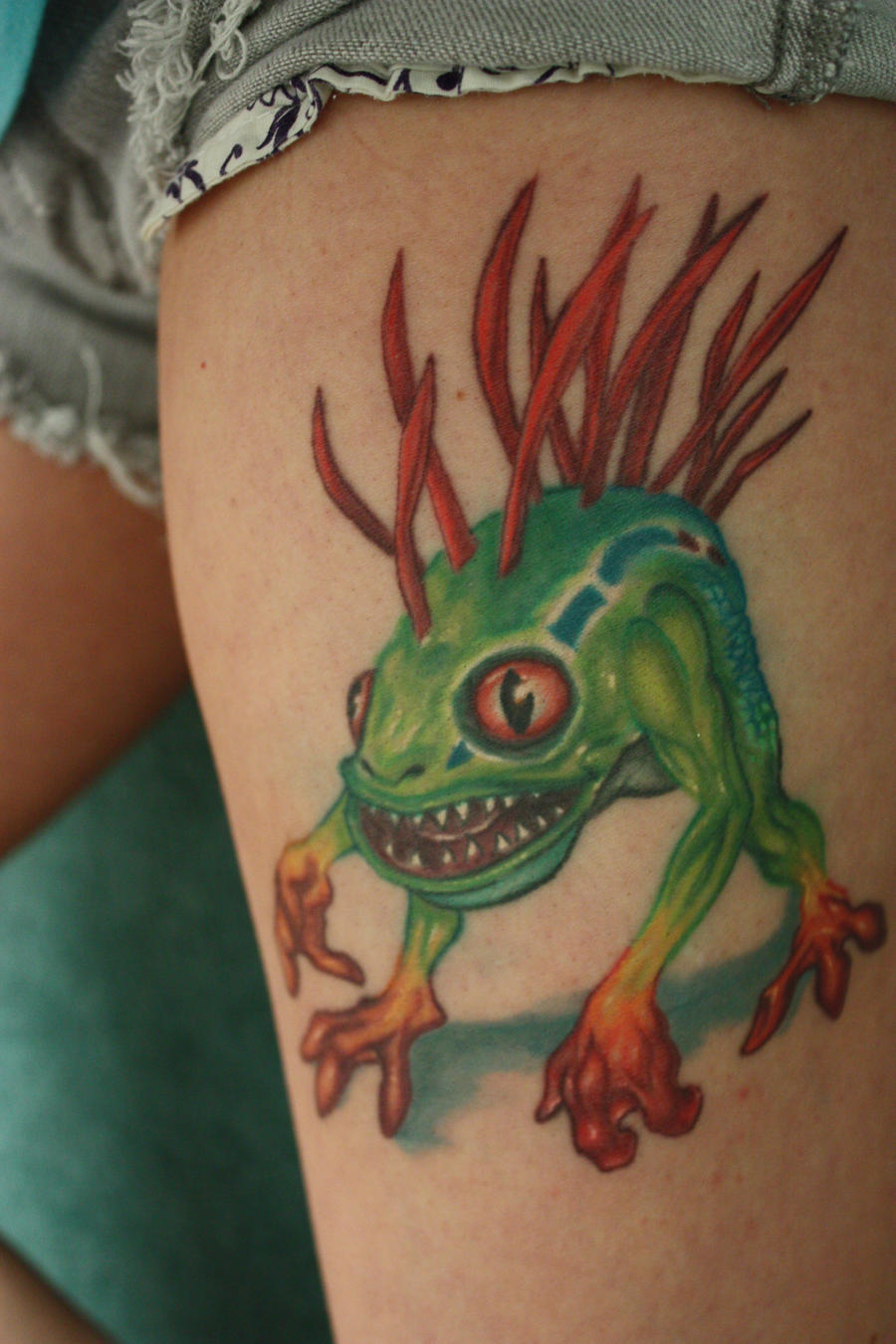 Murloc by synystist13 on deviantart for Tattoo shop etiquette