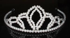 Tiara de perlas