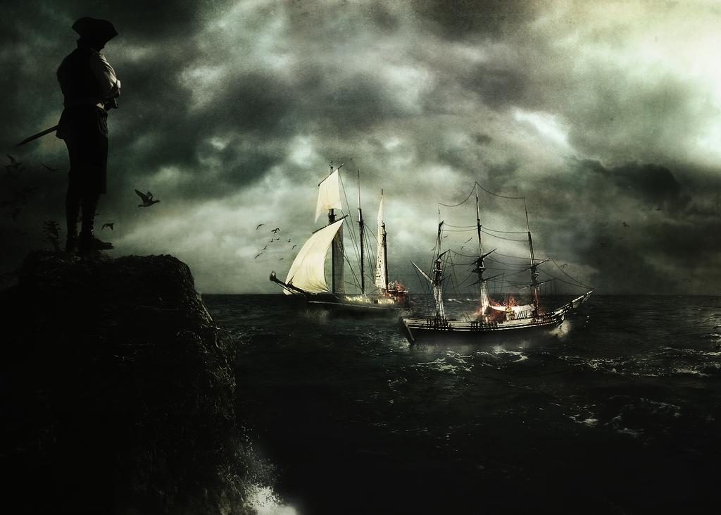 Sea Battle by tomer666