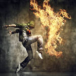 Fire Dance by tomer666