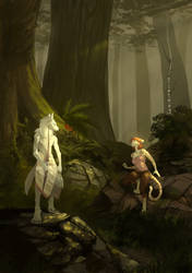 Unquiet woods by Lingrimm