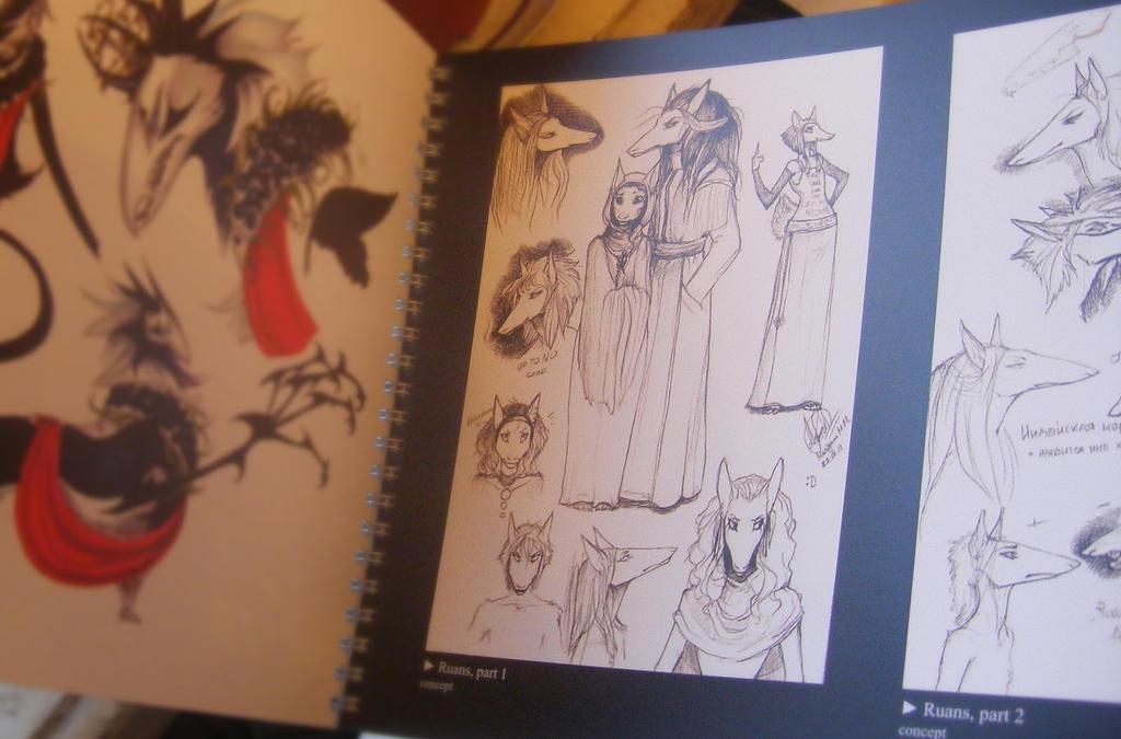 Chronorahn artbook by RayEtherna sample by Lingrimm