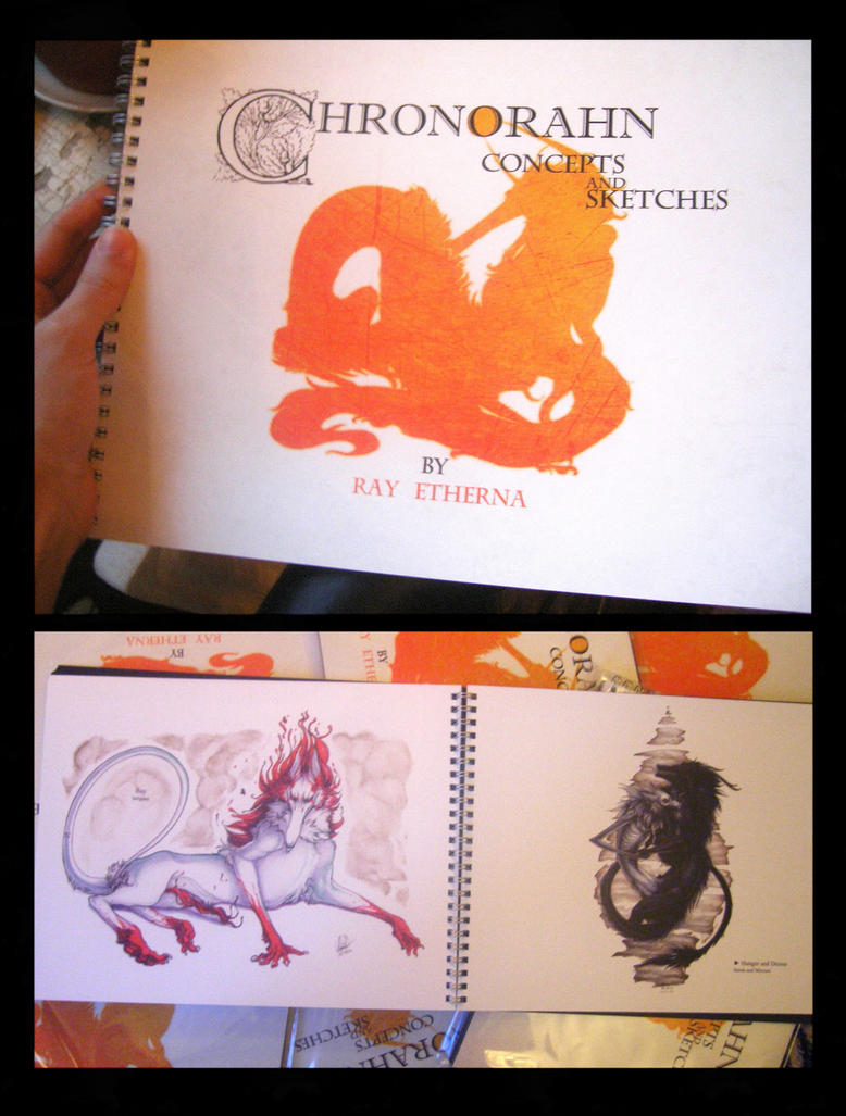 Chronorahn artbook by RayEtherna sample 3 by Lingrimm