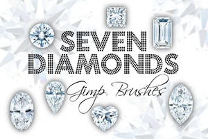 Seven Diamonds Gimp Brushes
