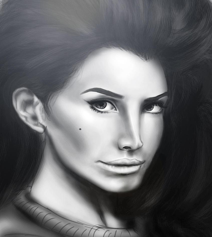 Lana close up by XToriRoseXD