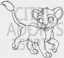 PTU Toony Feline Lines by CitruAdopts