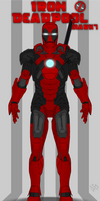 Iron DeadPool suit