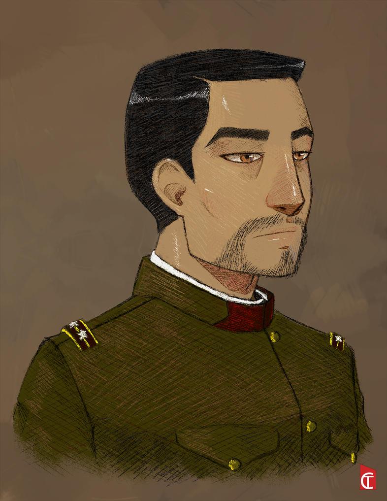 Captain Yosuke Tanaka by NonsenseDrawing
