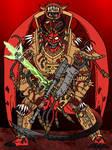Angron Daemon Primarch of Khorne