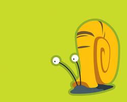 Snail by cavemanmac