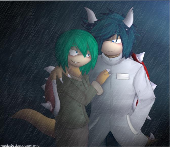 .:Rain:. by Yandechi