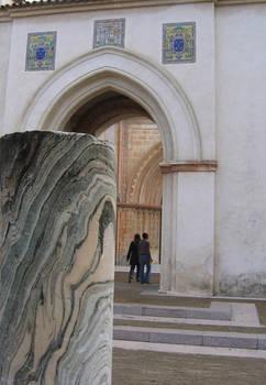 arches in stone