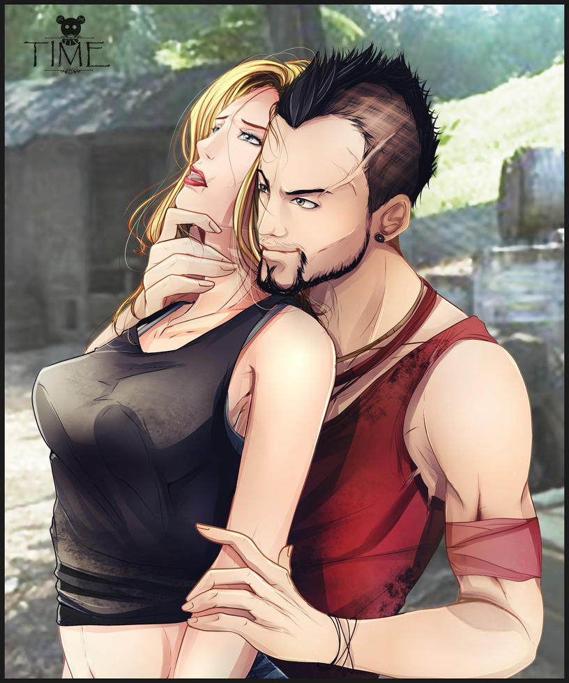 Vaas Montenegro and Girl (Emma Nilsson) by BeataVargas