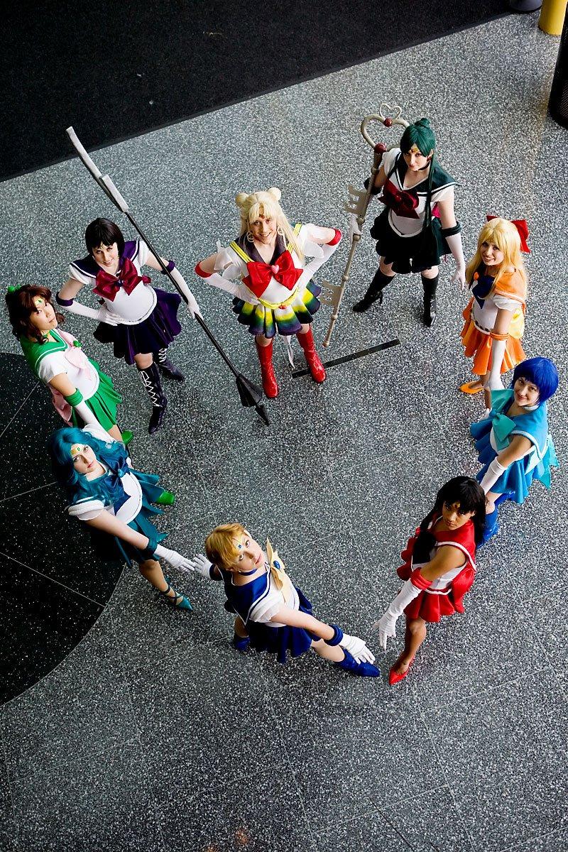 Sailor Team, Heart by Reipoker