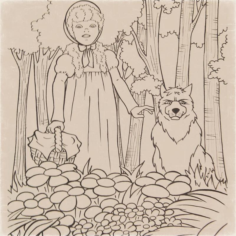 Red Riding Hood (Scufita rosie 2) by ILONNA
