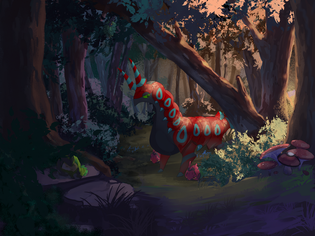 Pinwheel Forest by cuborodante