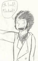 SWEENEY TODD LOVE POTATOES by otakuist