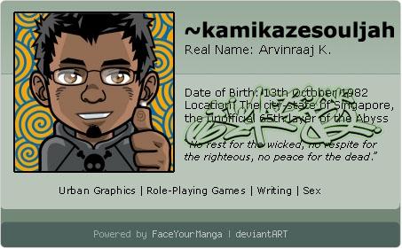 kamikazesouljah's Profile Picture