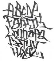 Alphabet - Graffiti by Total-903