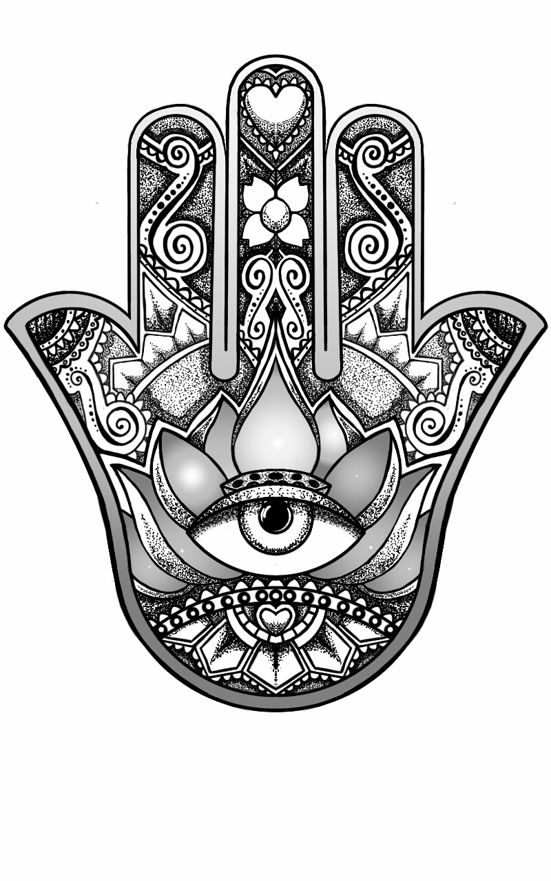 Hamsa Hand Design By Andywillmore On DeviantArt