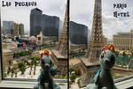 Rainbow Dash visiting Las Pegasus (Las Vegas)