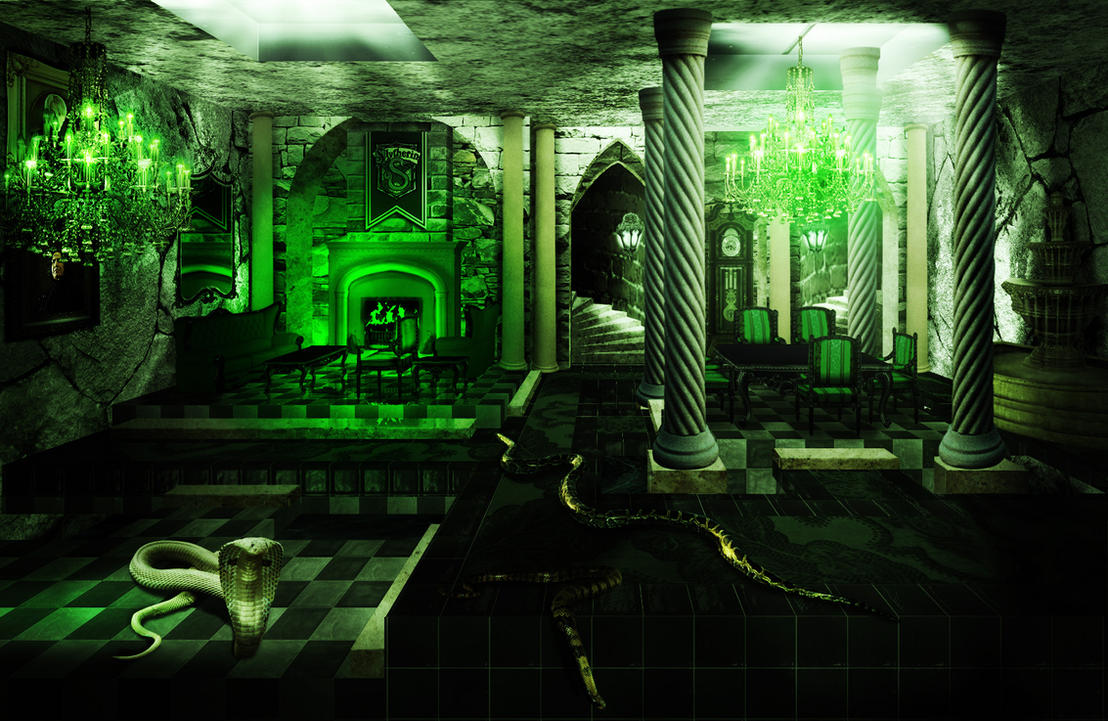 Decription Slytherin_Common_Room_by_audofit