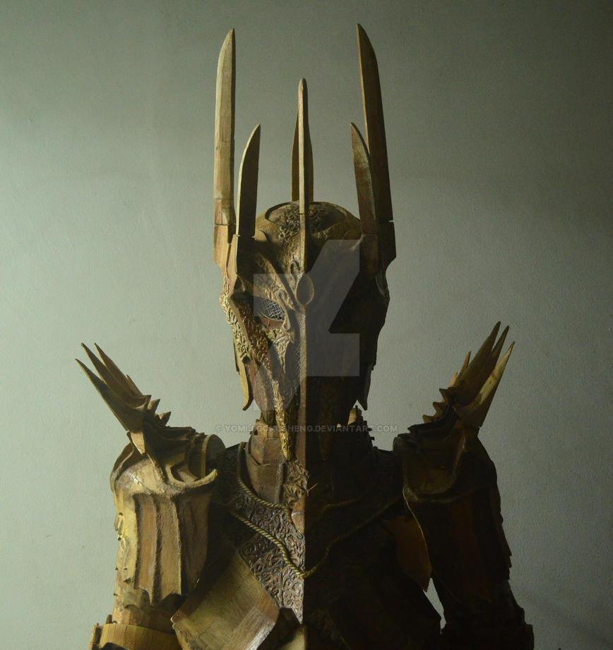 Sauron Cosplay Armor by YomiJigokuSheng