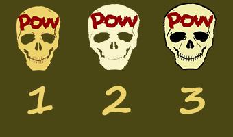 POW new logo 1 to 3 by YomiJigokuSheng