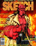 Hellboy-faux Sketch Mag Cover