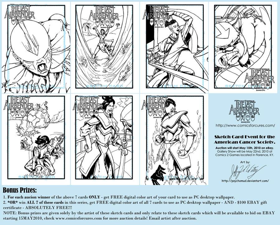 Comics4Cures -Airbender promo