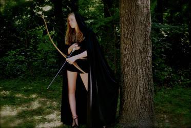 Archer in the Woods by SageFillyLuna