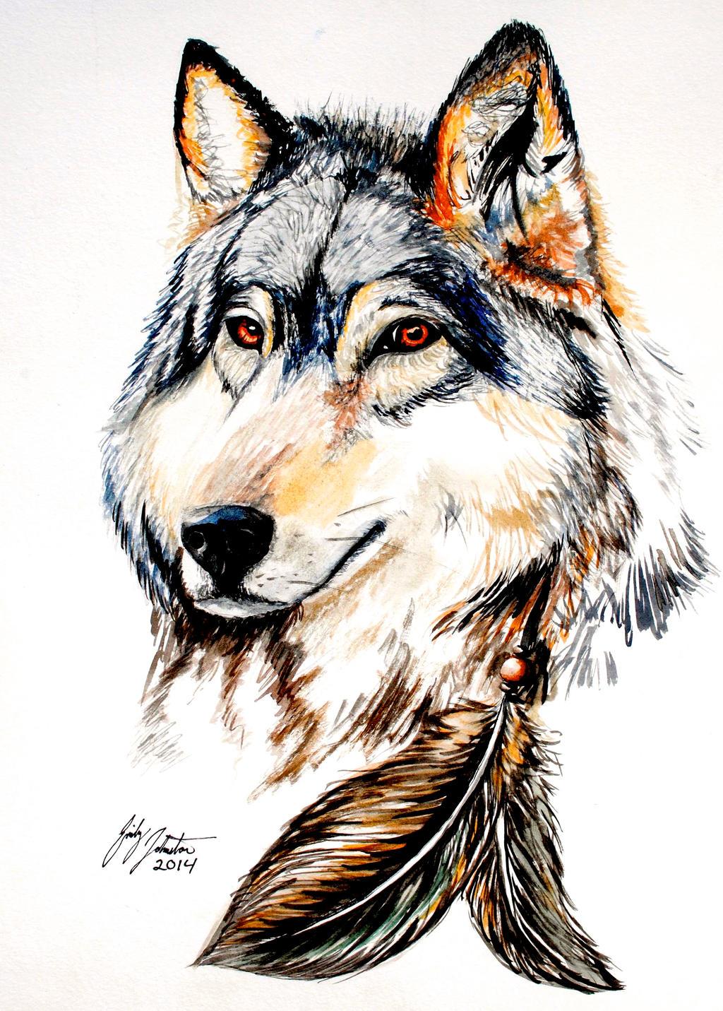 Wolf by SageFillyLuna