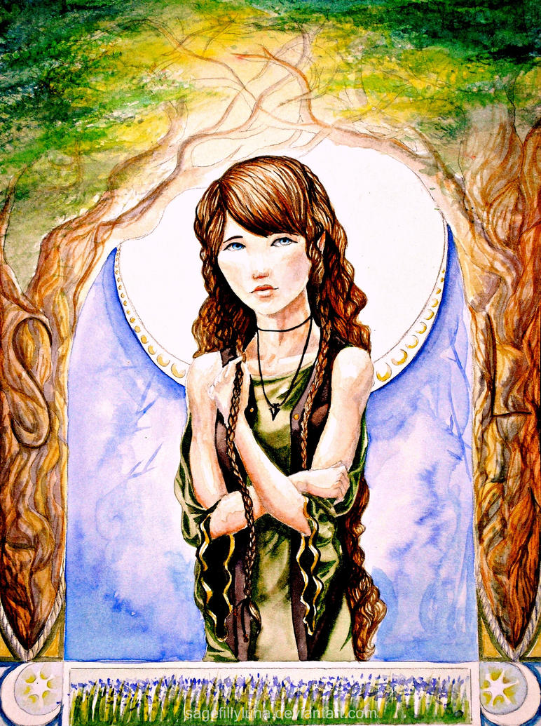 wise moon by SageFillyLuna